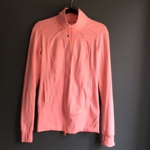 Lululemon coral full zip jacket
